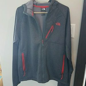 Mens The North Face zip up